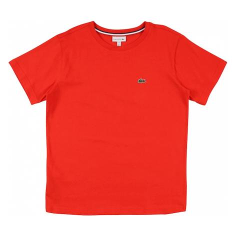 LACOSTE Tričko  svetločervená