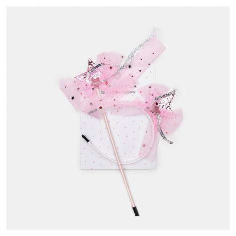 Sinsay - Dievčenská súprava s motívom víly - Ružová