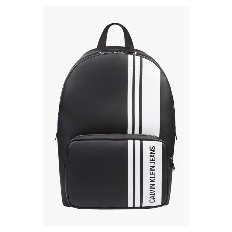 Calvin Klein čierny ruksak Campus BP s logom