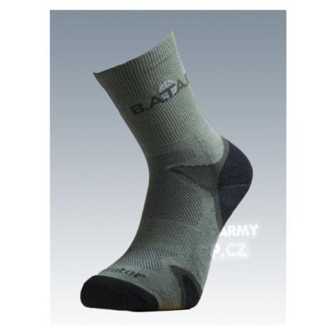 Ponožky so striebrom Batac Operator - olív