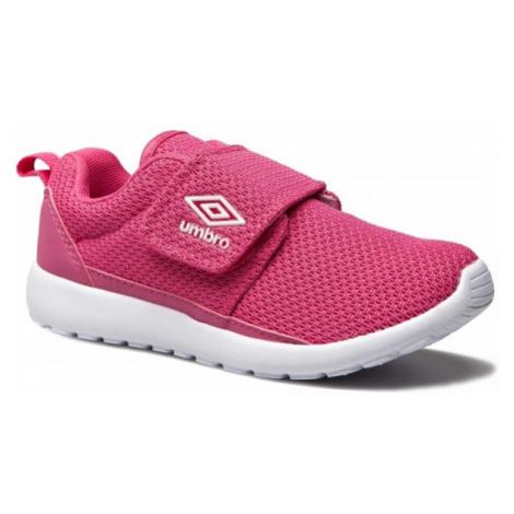 Umbro SHERRATT JNR ružová - Detská voľnočasová obuv