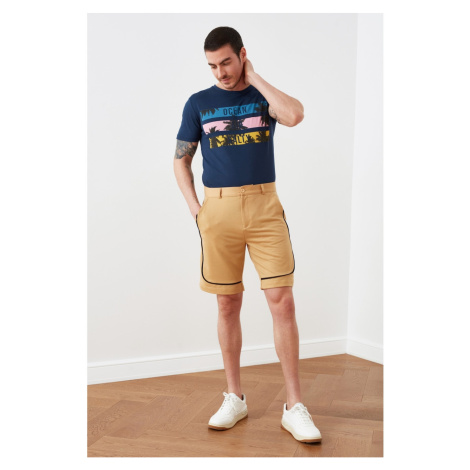 Trendyol Camel Men's Regular Fit Shorts & Bermuda