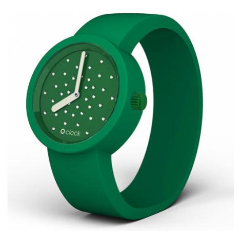 Obag o clock ciferník crystal smaragdový a o clock náramok smaragdový veľkosť: O bag