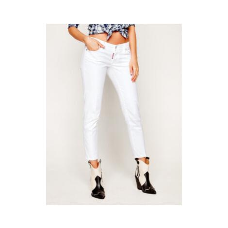 Dsquared2 Slim fit džínsy Jennifer Cropped S75LB0259 Biela Slim Fit Dsquared²