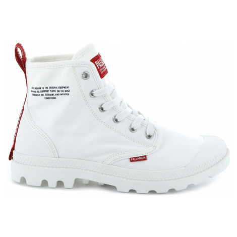 Palladium Boots Hi DU C U Star White-6 biele 76258-116-M-6