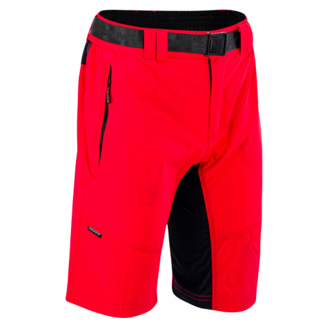 Pánske MTB šortky Silvini Rango Red-black