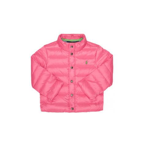 Polo Ralph Lauren Vatovaná bunda 311784338 Ružová Regular Fit