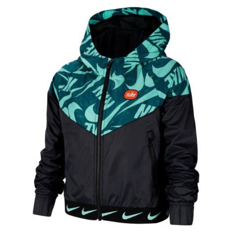 Nike NSW WR JACKET JDIY G čierna - Dievčenská bunda