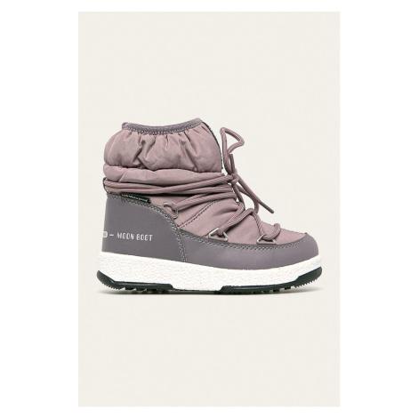 Moon Boot - Detské snehule Low Nylon WP