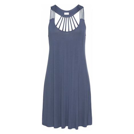 VENICE BEACH Letné šaty  dymovo modrá