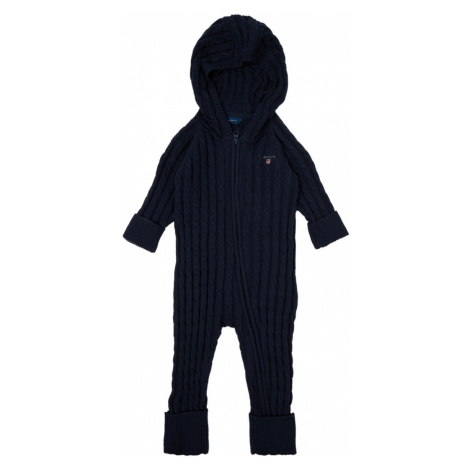 SVETER GANT D1. COTTON CABLE ZIP COVERALL