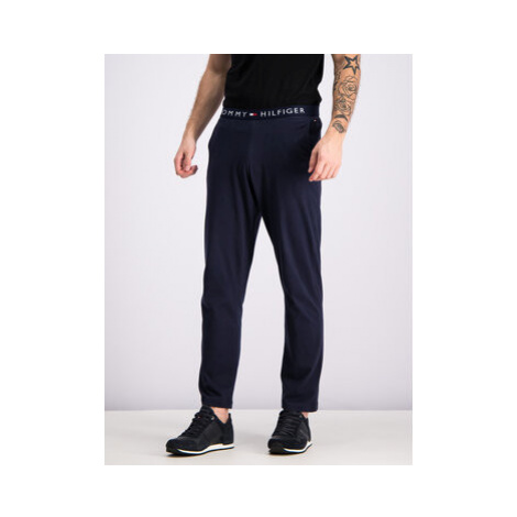Tommy Hilfiger Teplákové nohavice UM0UM01186 Tmavomodrá Regular Fit
