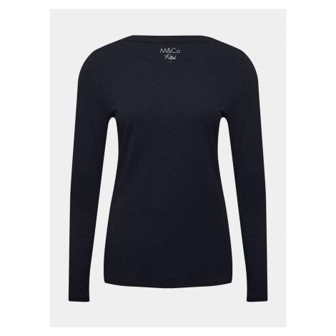 Tmavomodré tričko M&Co