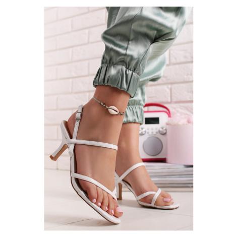 Biele sandále Ismea Belle Women