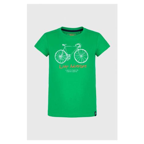 Chlapčenské tričko LOAP Badles zelená
