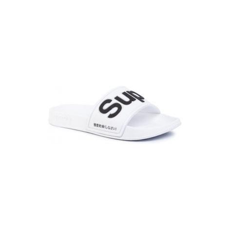 Superdry Šľapky Eva Pool SLIDE WF300008A Biela