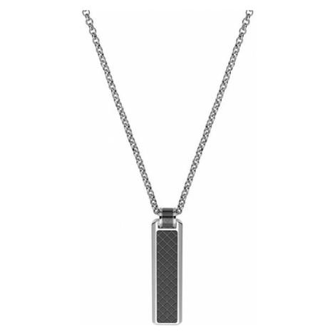 Dici Milano Pánsky náhrdelník s čiernym vzorom DCNL50150200