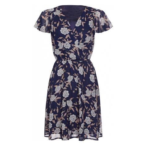 Mela London Šaty  námornícka modrá