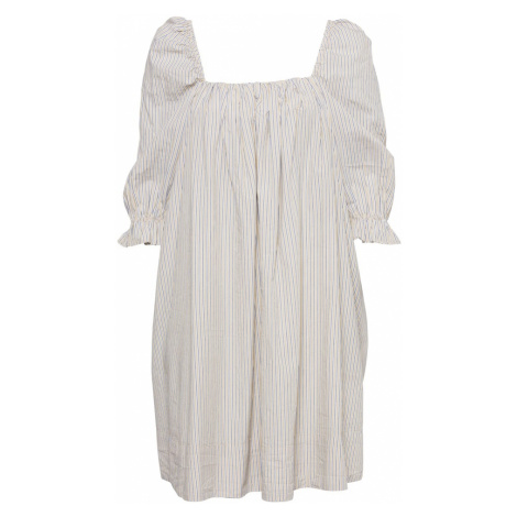2NDDAY Šaty 'Tiana'  biela ako vlna / modrá