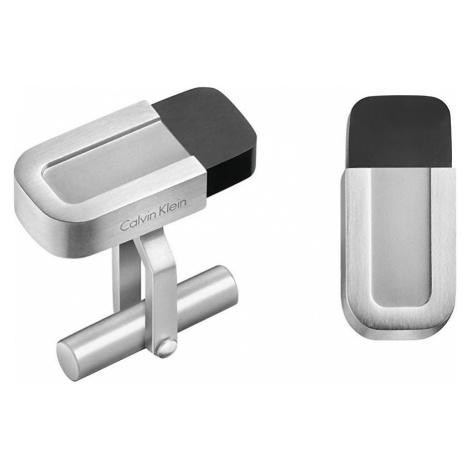 Calvin Klein Pánske manžetové gombíky Magnet KJ4DBC210100