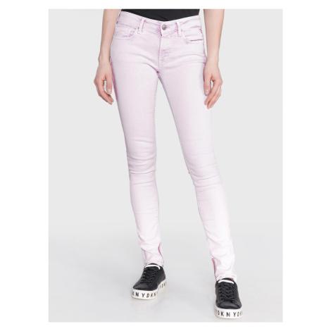 Luz Jeans Replay Růžová