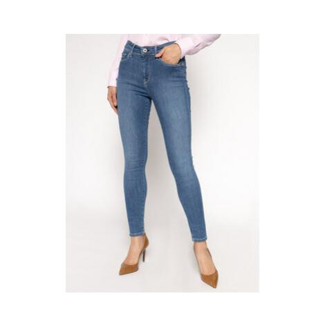 Pepe Jeans Skinny Fit džínsy Zoe PL203616H Tmavomodrá Skinny Fit