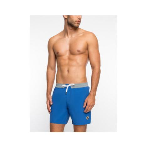 Colmar Plavecké šortky Blank 7257 5SE Tmavomodrá Regular Fit