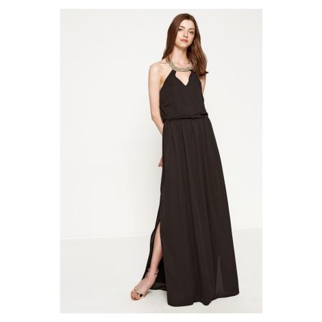 Koton Neck Detail Dress Evening Dress