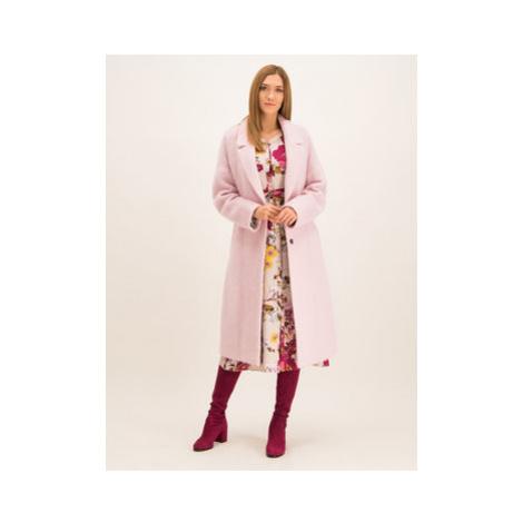 Laurèl Prechodný kabát 92029 Ružová Regular Fit Laurel