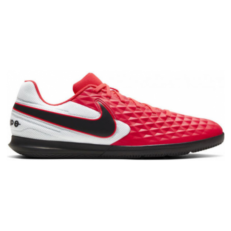 Nike TIEMPO LEGEND 8 CLUB IC červená - Pánska halová obuv
