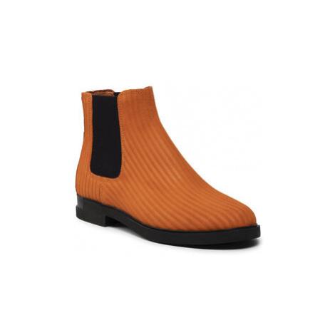 Camper Členková obuv s elastickým prvkom Iman K400610-002 Oranžová