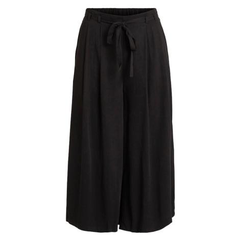 VILA Plisované nohavice 'Vero'  čierna