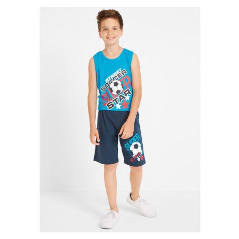 Chlapčenské tričko+top+bermudy (4-dielna sada)
