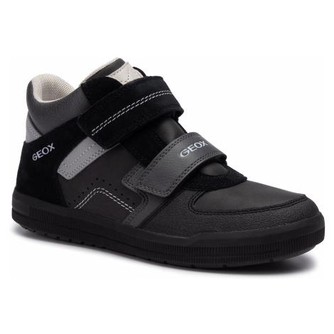Outdoorová obuv GEOX - J Arzach B. B J944AB 0ME22 C0005 D Black/Dk Grey