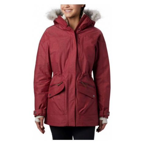 Columbia CARSON PASS IC JACKET vínová - Dámsky zimný kabát