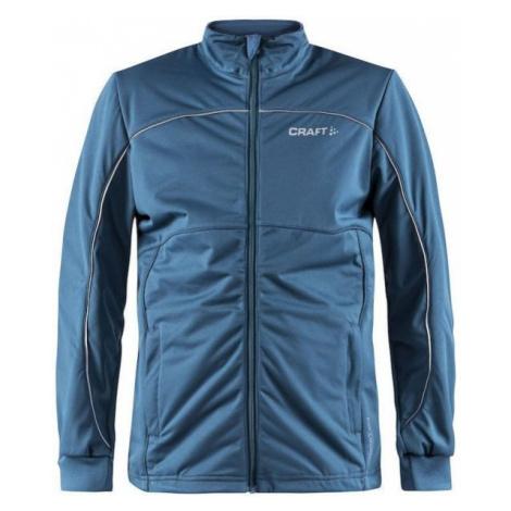 Craft WARM JNR modrá - Detská zateplená bunda