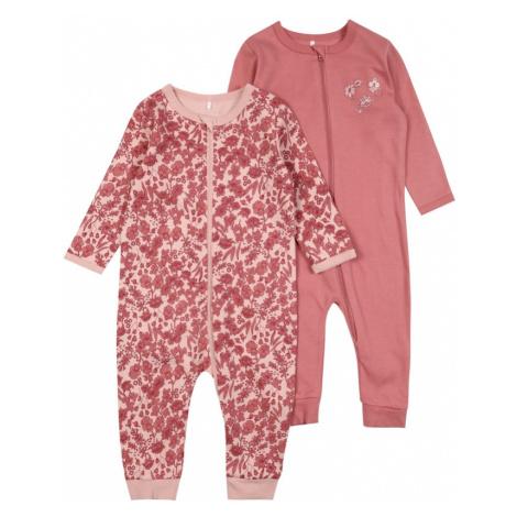 NAME IT Pyžamo  staroružová