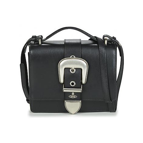 Vivienne Westwood RODEO SMALL SHOULDER BAG Čierna