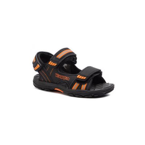 Kappa Sandále Symi K 260685K Čierna
