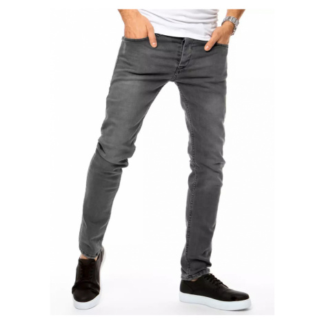 Dark gray men's jeans Dstreet UX3145