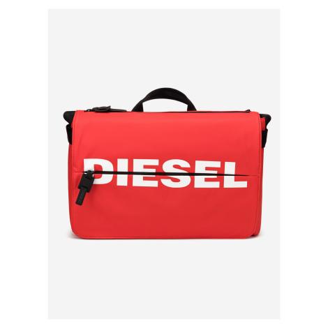 F-Bold Messenger II Brašna na notebook Diesel Červená