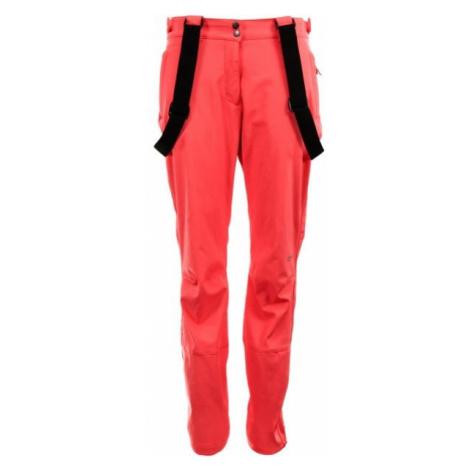 ALPINE PRO HIRUKA 2 oranžová - Dámske softshellové nohavice