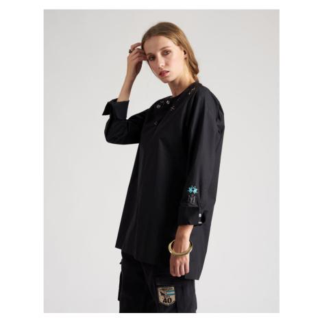 Blúzka La Martina Woman Shirt L/S Silky Poplin