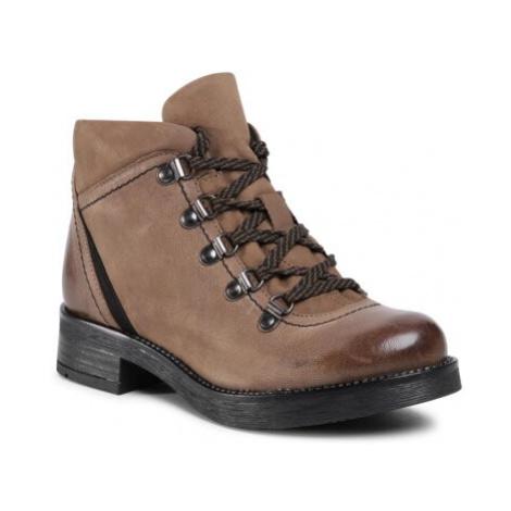 Šnurovacia obuv Lasocki WI23-D435-02 Prírodná koža(useň) - Nubuk