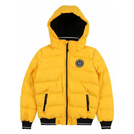 Cars Jeans Zimná bunda 'LENUX'  žltá