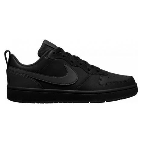 Nike COURT BOROUGH LOW 2 GS čierna - Detská voľnočasová obuv