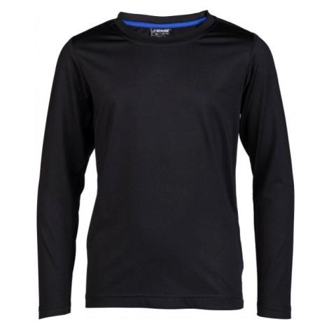 Kensis GUNAR JR čierna - Chlapčenské technické tričko