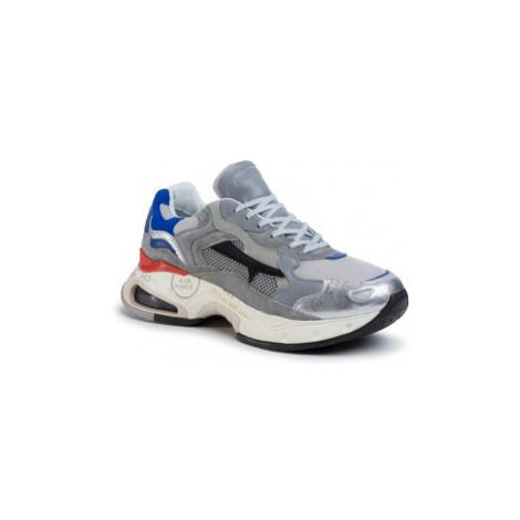 Premiata Sneakersy Sharky 043 Sivá
