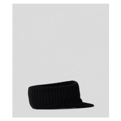 Šiltovka Karl Lagerfeld K/Ikonik 3D Pin Knit Visor