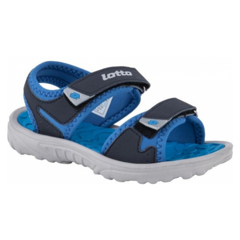 Lotto LAS ROCHAS III CL modrá - Detské sandále